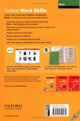 Oxford Word Skills Basic Back cover