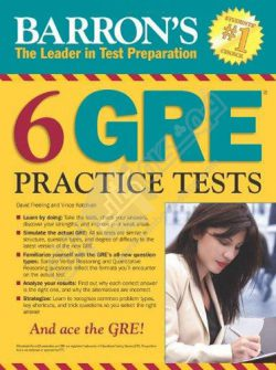 Barrons 6 GRE Practice Tests