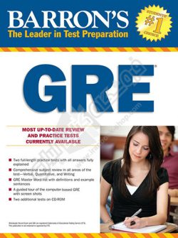 Barrons GRE 21th Edition