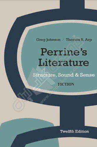 Perrines Literature : Structure, Sound & Sense Fiction 1