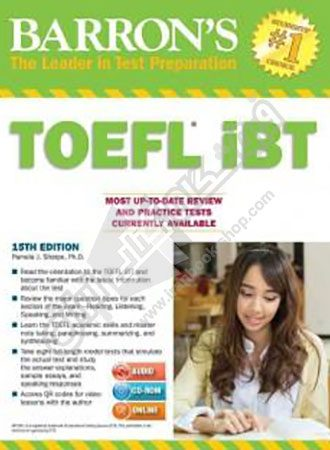 Barrons TOEFL iBT 15th Edition