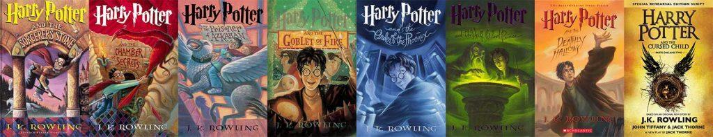 کتاب های Harry Potter