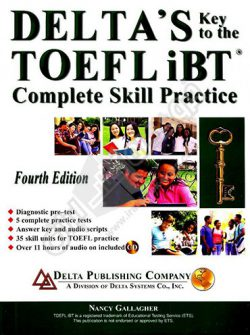 کتاب Deltas Key to the TOEFL iBT