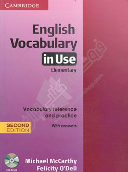 English Vocabulary In Use Elementary second Edition