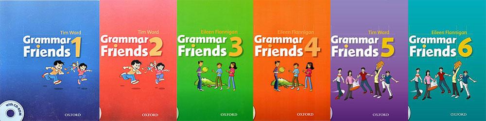 کتاب های Grammar Friends