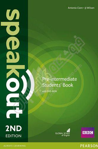 کتاب Speakout Pre-Intermediate second Edition سطح متوسط دوره آموزشی Speakout می باشد که برای افزایش مهارت های مکالمه طراحی شده. Speakout Pre-Intermediate